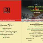 Undangan Halal Bi Halal IKA Teknik Sipil Unhas, 20 Juli 2015