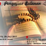 Pengajian Bulanan IKA Teknik UNHAS Edisi Juli 2017