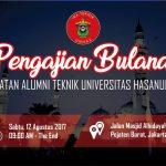 Pengajian Bulanan IKATEK Unhas Edisi Agustus 2017