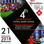Mari Ramaikan 4 Tahun Perayaan Futsal IKA Teknik UNHAS di Makassar!