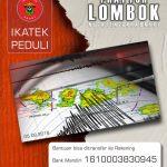 Gerakan IKA Teknik Unhas Peduli Gempa Lombok