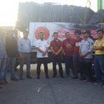 Alumni Teknik Unhas Kirim 3 Truk Makanan dan Tenda ke Sulteng, Dilepas Wagub Sulsel