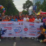 Lari Bareng Campurun Komunitas Meriahkan HBH IKA Teknik Unhas