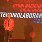 Hadiri Halal Bihalal Teknik Unhas, Nurdin Abdullah Ajak Alumni Tinggalkan Perbedaan
