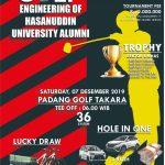 Turnamen Golf IKA Teknik UNHAS 2019