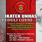 Aksi Sosial IKATEK Unhas Peduli Covid 19