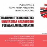 IKA Teknik UNHAS DPW Kalimantan Siap Dilantik