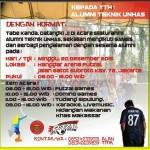 Mari Ramaikan Silaturahmi dan 2nd Anniverzary Futsal IKA TEKNIK UNHAS di Jakarta!!