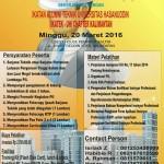Program Pembinaan Profesi Insinyur (P3I) Kerjasama PII & IKA Teknik UNHAS Siap Digelar di Balikpapan, 20 Maret 2016