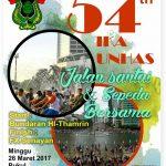 Gerak Jalan Santai & Sepeda Bersama Dalam Rangka HUT IKA UNHAS ke-54