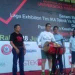 Wali Kota Makassar Buka Halal Bihalal Ikatek Unhas 2017