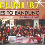Kebersamaan 32 Tahun, Alumni Teknik Unhas Angkatan 87 Gelar Reuni Selama Tiga Hari di Kota Bandung